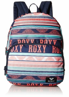 Roxy Women's Always Core Canvas Backpack bright white ax BOHEME border