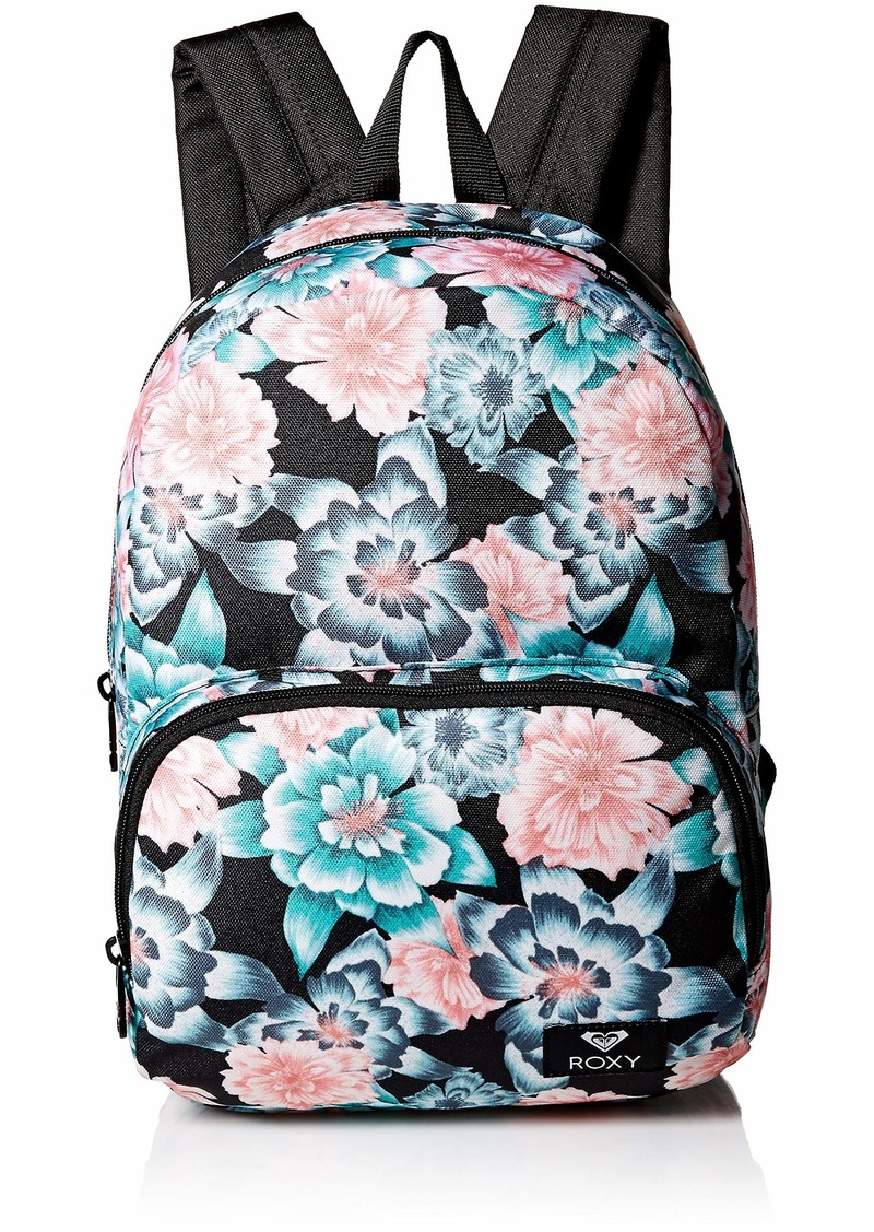 Roxy Women's Always Core Mini Backpack anthracite sample crystal flower