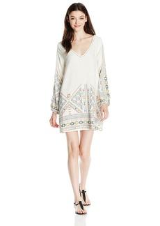 Roxy Women's April Morning Long Sleeve Dress  L