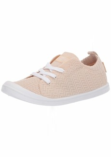 Roxy Women's Bayshore Knit Shoe Sneaker tan 6.5 Medium US