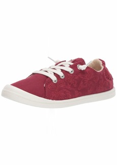 Roxy Women's Bayshore Slip On Sneaker Shoe red Clay  M US