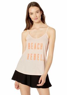 Roxy Women's Beach Rebel Strappy Tank PEARLBLUSH S