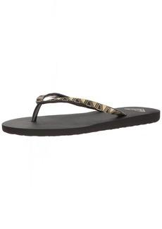 Roxy Women's Bermuda Molded Sandal Flip Flop  7 M US