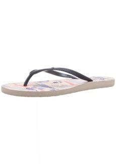 Roxy Women's Bermuda Sandal Flip Flop   M US