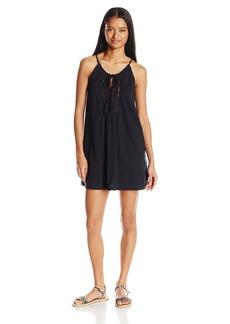 Roxy Women's Black Water Tank Dress  L