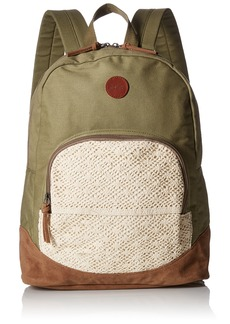 Roxy Women's Bombora Canvas Backpack
