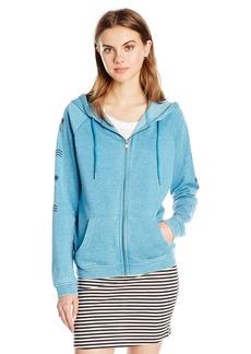 Roxy Women's Break Drop Hoodie C Zip-up Sweatshirt  L