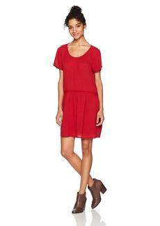 Roxy Women's Bungalow Hide Out Short Sleeve Dress  M