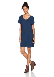 Roxy Women's Bungalow Hide Out Short Sleeve Dress  S