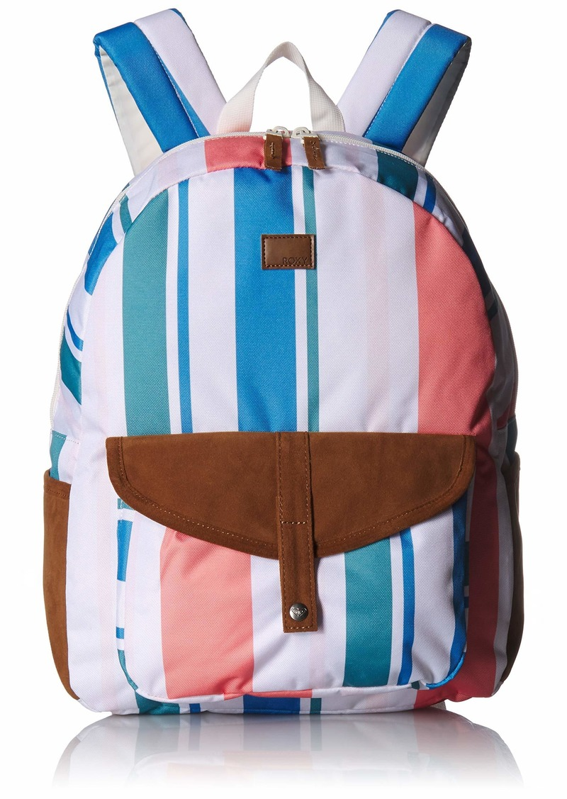 Roxy womens Carribean Backpack marshmallow fresh stripe