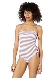Roxy Women's Chasing Love One Piece Swim Suit  M