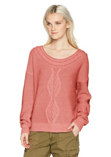ROXY Women's Choose to Shine Pullover Sweater  XL