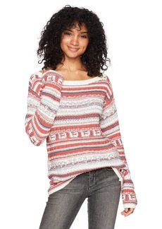 Roxy Women's Cold is Coming Off The Shoulder Sweater  L