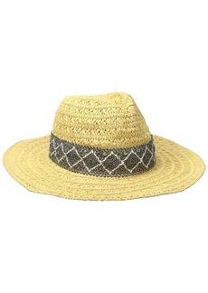 Roxy Women's Cowgirl Straw Hat  M/L