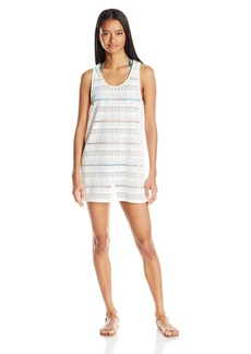 Roxy Women's Crochet Easy Dress Cover up  M