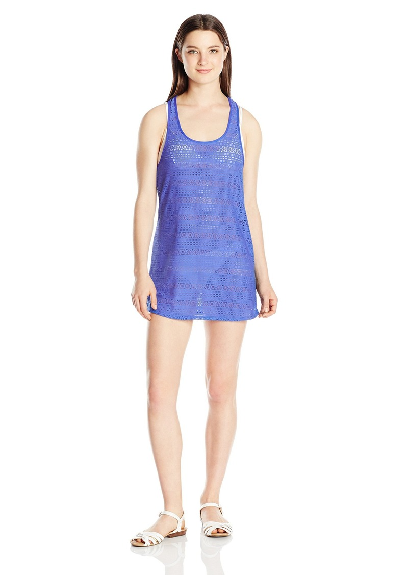 f09300367a SALE! Roxy Roxy Women's Crochet Sporty 2 Cover-Up Dress