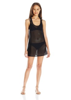 Roxy Women's Crochet Sporty 2 Coverup Dress  S