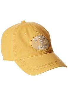 Roxy Women's Dear Believer Cotton Baseball Hat