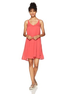 Roxy Women's Dome of Amalfi Dress Spiced Coral ERJWD03148 XS