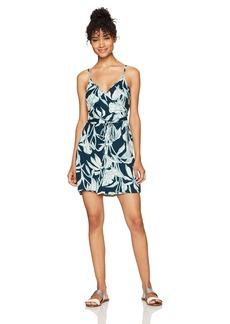 Roxy Women's Drifting Current Dress Reflective Pond Java Life ERJWD03154 M