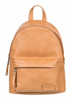 Roxy Women's Drunk in Love Faux Leather Backpack TOASTED NUT 211