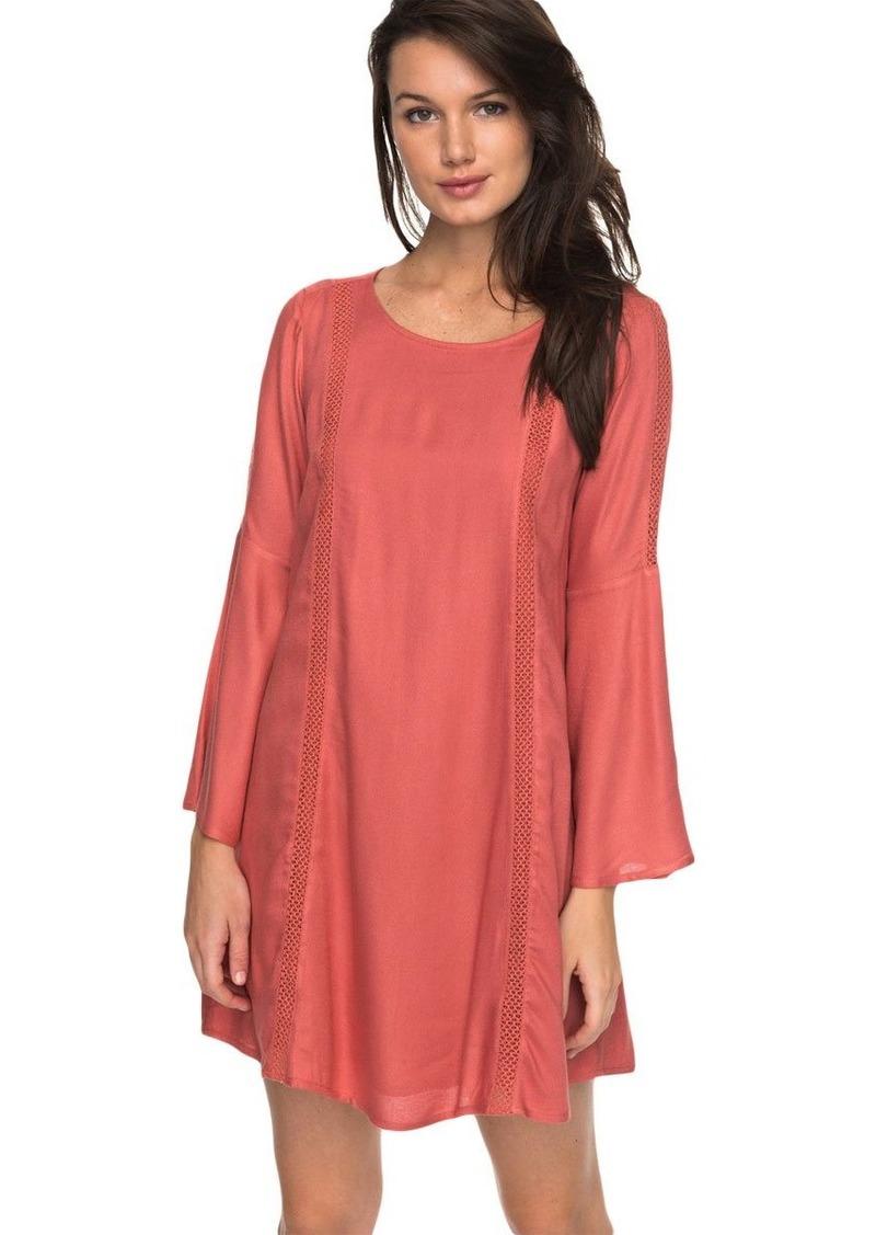 ROXY Women's East Coast Dreamer Long Sleeve Dress  M
