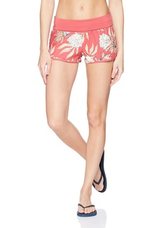 Roxy Women's Endless Summer Printed Boardshort Holly Berry Swim House of The L