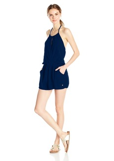 Roxy Women's Extratropical Halter Romper  L