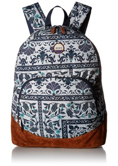 Roxy Women's Fairness Backpack Dress Blues Square Flower