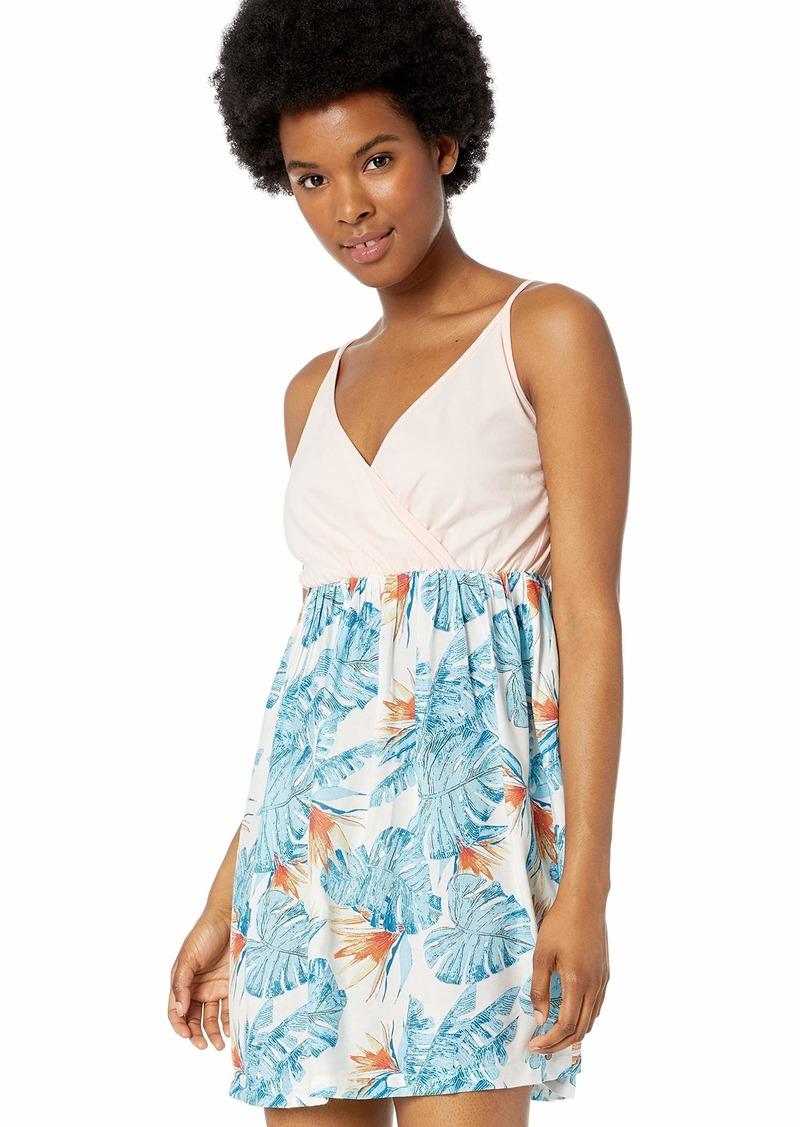 ROXY Women's Floral Offering Strappy Dress  M