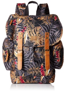 Roxy Women's Free for Sun Backpack Anthracite Jungly Flowers ERJBP03547