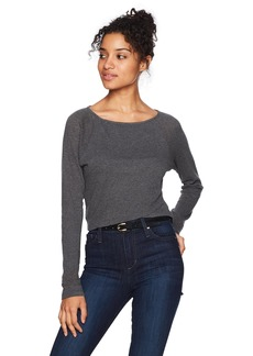 Roxy Women's Good As Cold Long Sleeve Crop Top  M