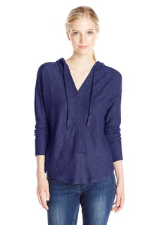Roxy Junior's Good Vibrations Long Sleeve Hooded Sweatshirt