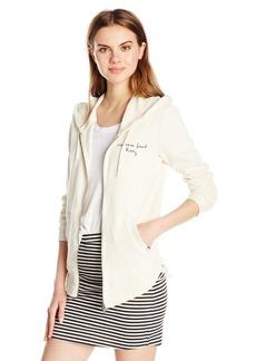 Roxy Women's Hawser Hoodie B Zip-up Sweatshirt  L