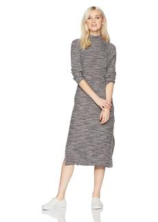 Roxy Women's Hello Fall Bodycon Long Sleeve Dress  L
