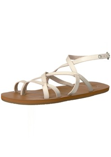 Roxy Women's Julia Sandal Flat   M US