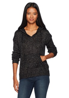 Roxy Women's Just My Type Hooded Sweater Anthracite Heather ERJSW03214 S