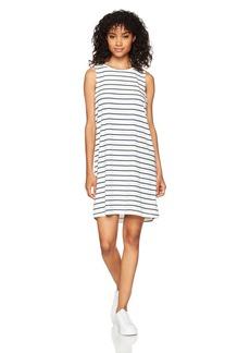 Roxy Women's Just Simple Tank Dress Stripe Marshmallow Lexi Stripe ERJKD03129 L
