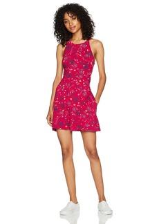 Roxy Women's Just Start Dress Persian Red Botanical Garden ERJKD03136 XS