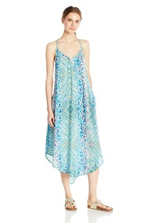 Roxy Women's Kat Fish T-Strap Dress  M
