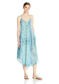 Roxy Women's Kat Fish T-Strap Dress  XL