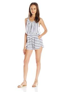 Roxy Women's Keep Cool Romper Coverup Dress  L