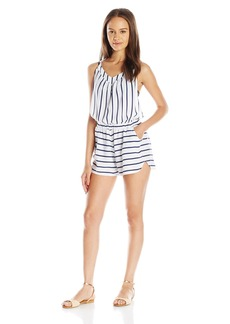 Roxy Women's Keep Cool Romper Coverup Dress  XL