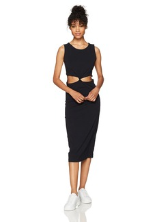 Roxy Women's May Blossom Dress Anthracite ERJKD03134 XS