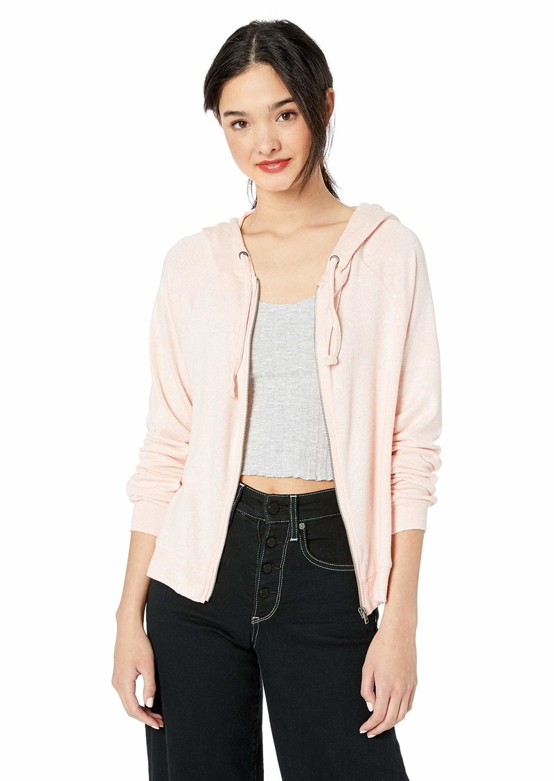 Roxy Women's Message from You Cozy Zip Up Hoodie  M