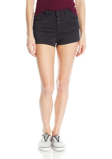 Roxy Women's Mission to Glory Cotton High Waisted Shorts