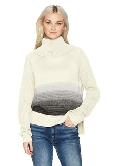 Roxy Women's Morning Sun Turtle Neck Sweater  M
