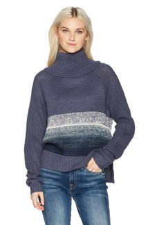 Roxy Women's Morning Sun Turtle Neck Sweater  XL