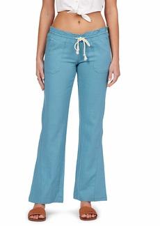 Roxy Women's Oceanside Pant Adriatic Blue EXC XS
