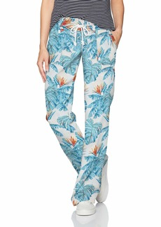Roxy Women's Oceanside Pant Printed  XL